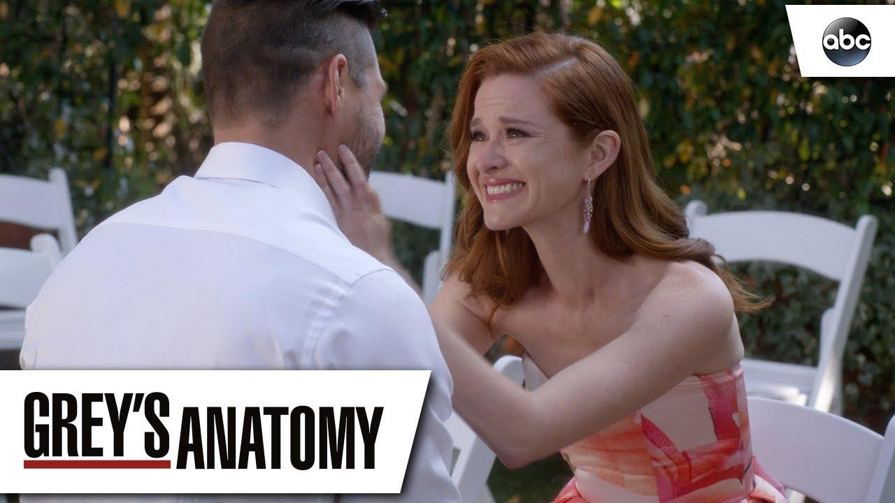 Matthew Proposes To April Grey S Anatomy Season 14 Episode 24 Youtube