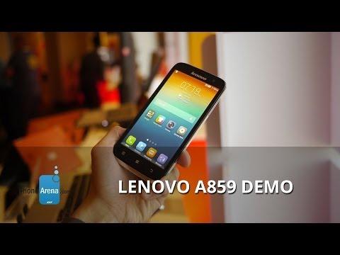 Lenovo A859 demo