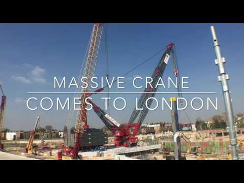 Massive Crane Comes to London