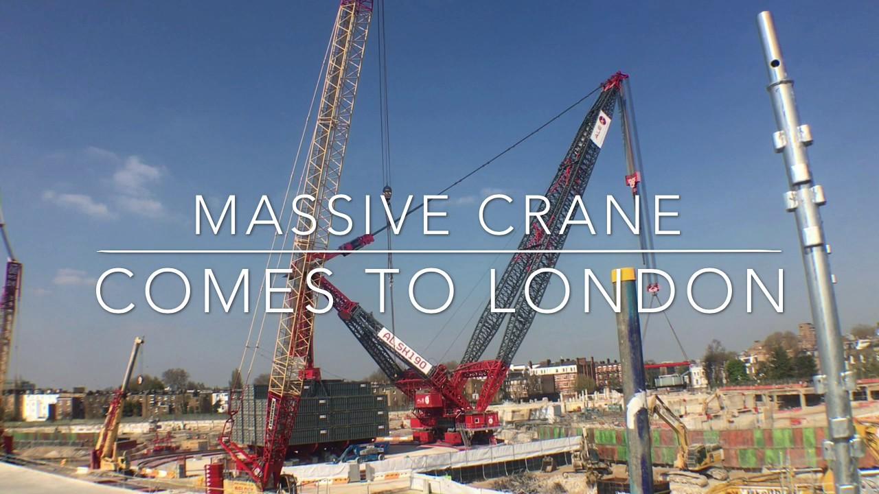 Massive Crane Comes to...
