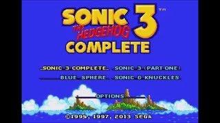 Sonic 3 Complete (Genesis) - Longplay