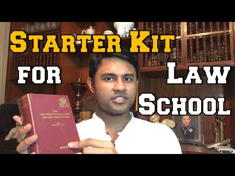 LAW SCHOOL STARTER KIT GUIDE! - Philippines