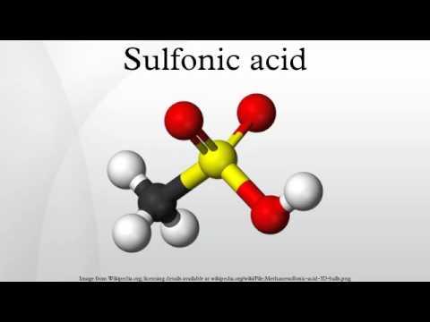 Sulfonic acid
