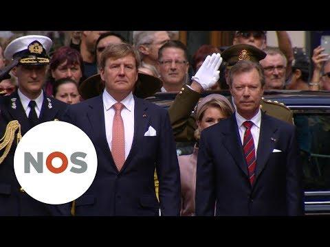 STAATSBEZOEK: Koningspaar bezoekt Luxemburg