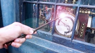 A Comprehensive Look At Interactive Wand Magic In Diagon Alley And Hogsmeade In Universal Studios!