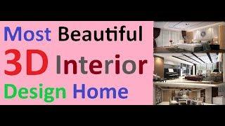 Plan 3d Interior Design Home Plan 8x13m Full Plan 3beds/most Beautiful Modern/best/amazing/savjot