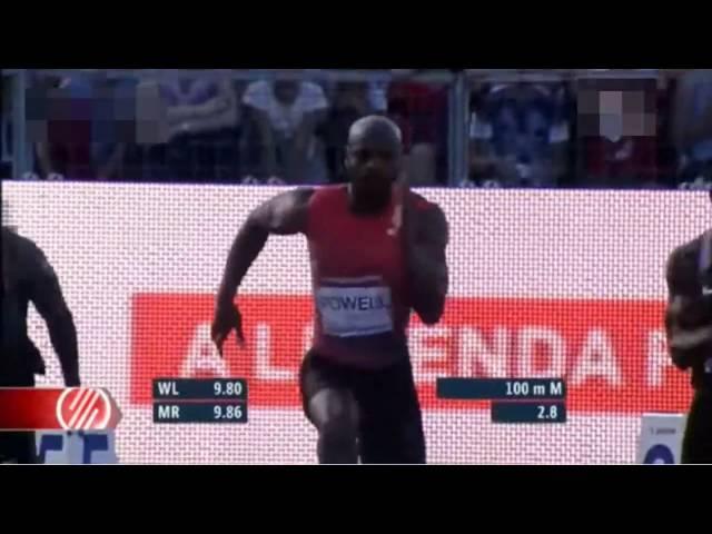 Akani Simbine beats Asafa Powell with 9.89s in Men's 100m at Gyulai Istvan Memorial 2016