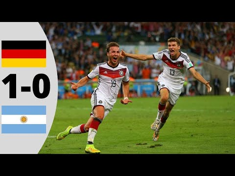 Germany Vs Argentina 1-0 | Extended Highlights | 2014 (W.C Final)