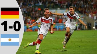 Germany vs Argentina 1-0   Extended Highlights   2014 (W.C Final) screenshot 5