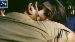 Lorry Driver Telugu Movie Scenes | Sarath Kumar Kissing Ramya Krishna | AR Entertainments