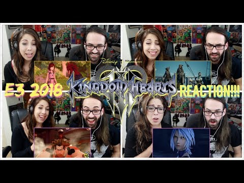 KINGDOM HEARTS III - E3 2018 Showcase (Frozen) & Pirates of the Caribbean TRAILER REACTIONS!!!
