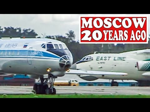 MOSCOW 20 YEARS AGO   Tupolevs,  Ilyushins And More...