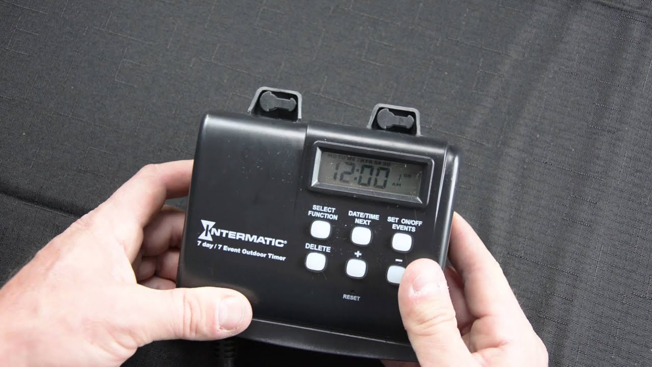 Intermatic hb880r landscape lighting timer tutorial youtube intermatic hb880r landscape lighting timer tutorial aloadofball Gallery