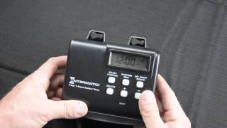 intermatic hb880r landscape lighting timer tutorial