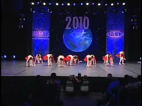 Dance Worlds 2010: Chengdu Sports University Intl Open Jazz 7th place (China)