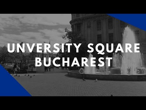 University Square Bucharest   | Discover Romania | Ep.4 | Rent For Comfort Agency