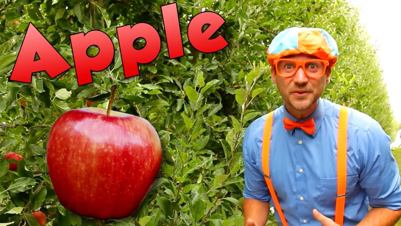 Blippi Visits an Apple Factory | Healthy Eating Videos For Kids | Educational Videos For Toddlers