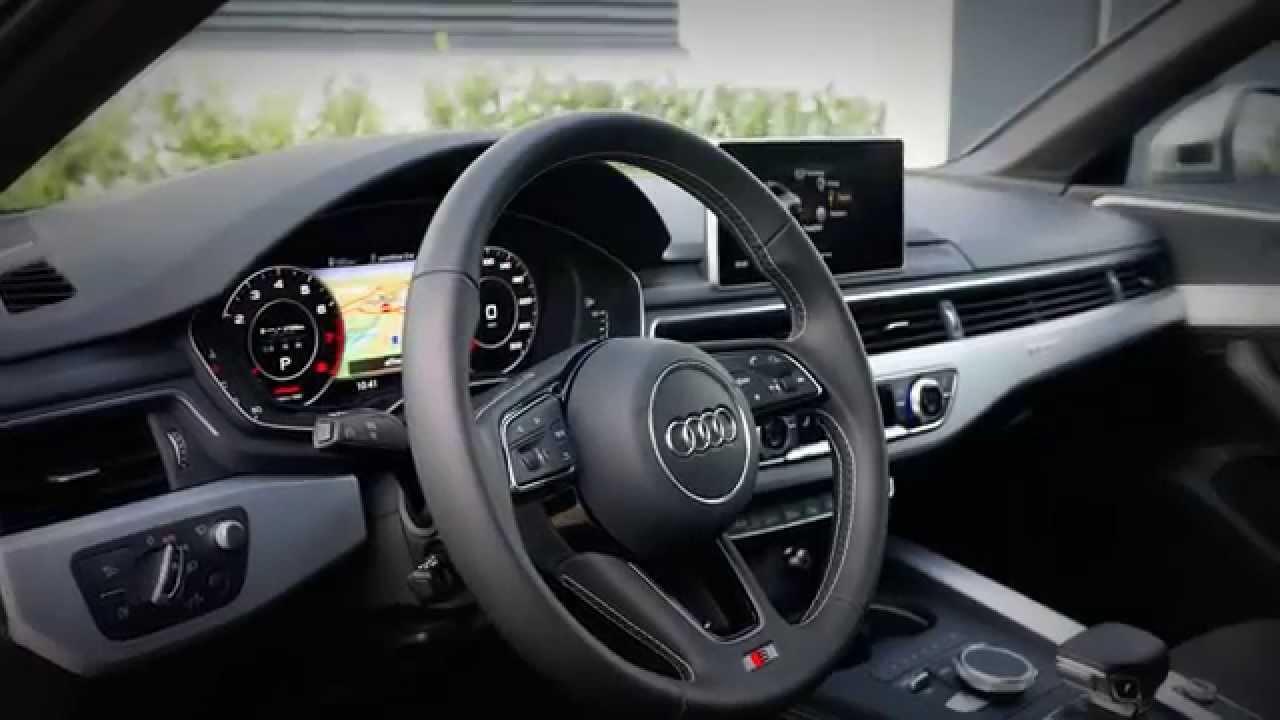 Charming All New 2016 Audi S4 Sedan Interior Short Clip   YouTube