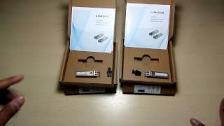 SYS2U.COM - แกะกล่อง Linksys LACGLX+LACGSX SFP Transceiver, 1000Base