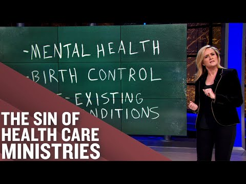 Health Care Sharing Ministries ARE NOT Health Insurance!   Full Frontal on TBS