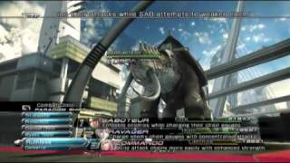 Final Fantasy XIII - How to Beat Adamantoise Fair and Square