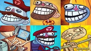 Troll Face Quest Video Games Compilation All Levels Gameplay Walkthough
