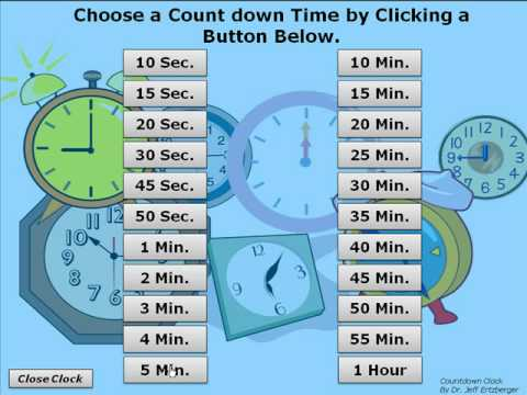 PowerPoint Timer - Countdown Clock - YouTube