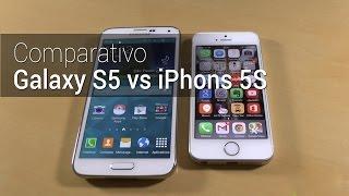 comparativo iphone 5s vs galaxy s5   tudocelular com