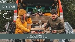 ROOMTOUR DURCH UNSEREN VAN | Mercedes Benz Vito 115 cdi | Selbstausbau | DIY Camper