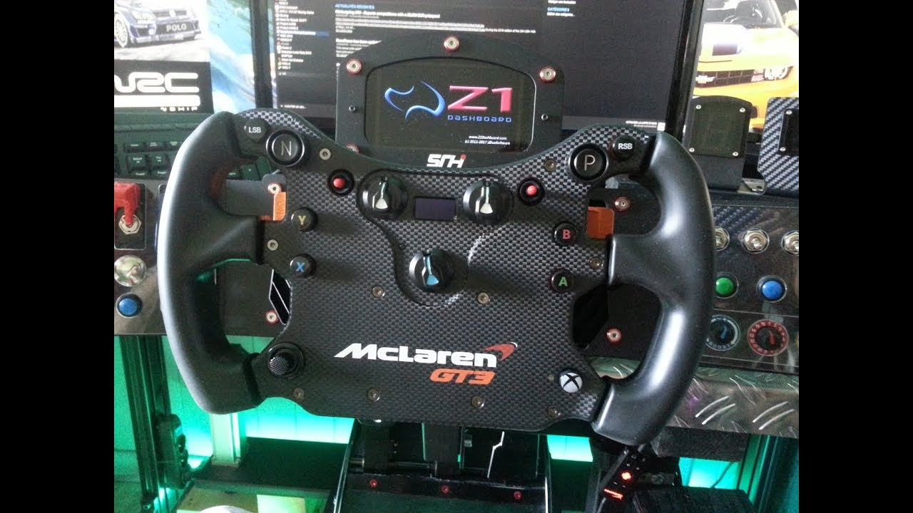 test volant fanatec mclaren gt3 csl elite base v2. Black Bedroom Furniture Sets. Home Design Ideas