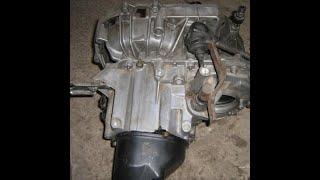 Как снять коробку на рено логан 2, сандеро 2. К4М МКПП 1,6 16кл. Renault Logan, Sandero