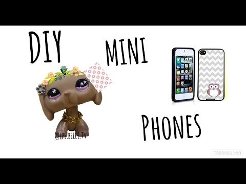 DIY Mini phone cases/No print