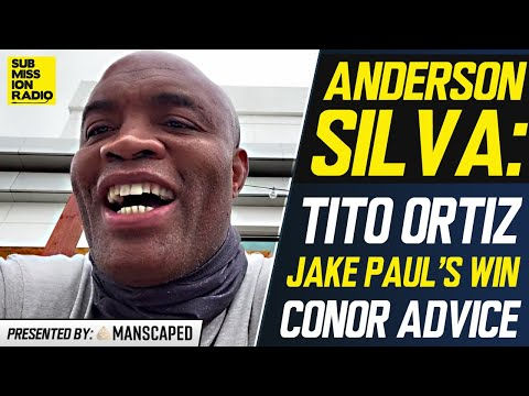 Anderson Silva Reacts to Jake Paul/Woodley, Gives Conor McGregor Advice, Talks Adesanya/Whittaker 2