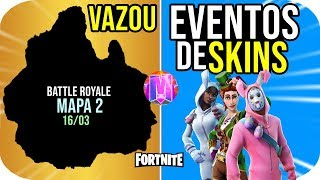 FORTNITE-SKINS EVENTS AND NEW MAP BATTLE ROYALE COMING UP!