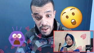 Man Ana Cover by Ai Khodijah (Official audio dan Video) ||REACTION|| جزائري