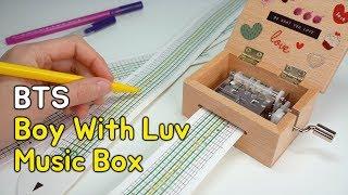 방탄소년단 Boy With Luv 오르골 만들기 | DIY BTS' Music Box (Boy With Luv)