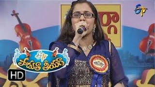 Disturb chestunnade Song - Priya Performance in ETV Padutha Theeyaga - 1st August 2016