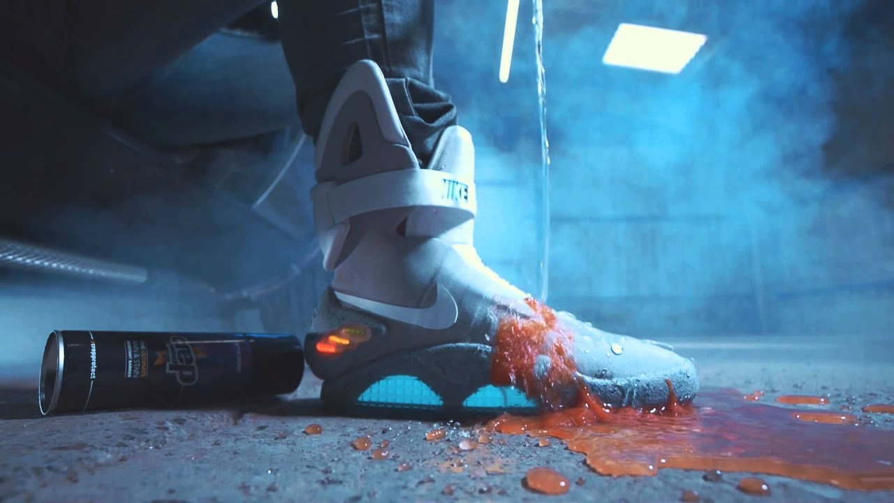 Crep Protect x Back to the Future x
