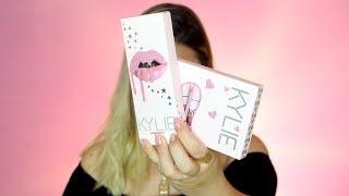 מנסה את קולקציית יום ההולדת של קיילי ג'נר ! ||  KYLIE COSMETICS Birthday Collection