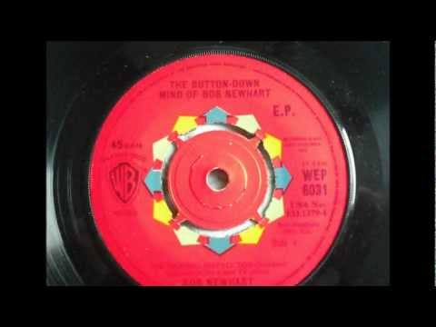 The Button-Down Mind Of Bob Newhart     'The Cruise Of The USS Codfish' 45rpm