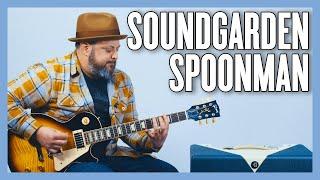 Soundgarden Spoonman Guitar Lesson + Tutorial