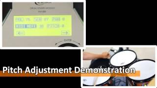 【XM eDrum】100S module - Individual Drum and Cymbal Settings (14-4)