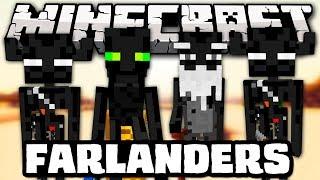 Minecraft: NOVOS ENDERMEN! - Poderes, Cajados, Mobs! - Farlanders Mod