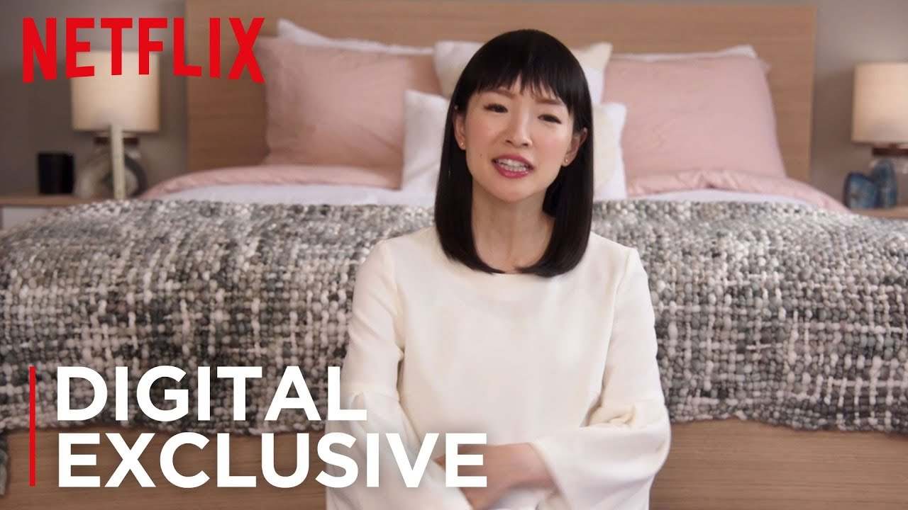 How To Fold Ed Sheets Tidying Up With Marie Kondo Netflix