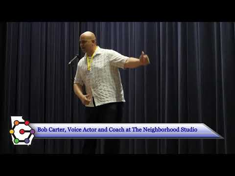 CIMFest 2017 Bob Carter Keynote: Voice Acting and YOU!
