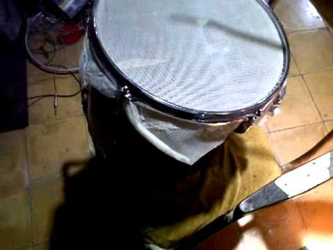 mesh head drum diy youtube. Black Bedroom Furniture Sets. Home Design Ideas