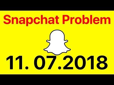Snapchat Problem 11.07.2018 Und Was Ihr Tun Könnt!