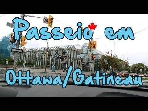 Turismo no CANADÁ: OTTAWA / Gatineau TALK & DRIVE