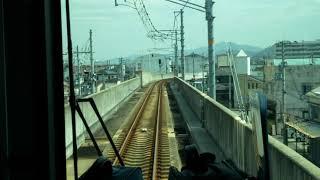 JR紀勢本線227系1000番台 和歌山市→和歌山 前面展望