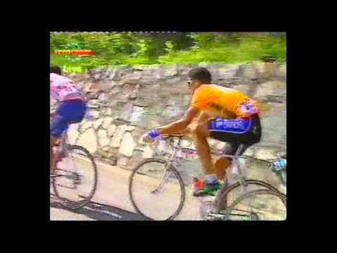 Sestriers To  L'Alpe-D'Huez stage 14 eurosport 1992